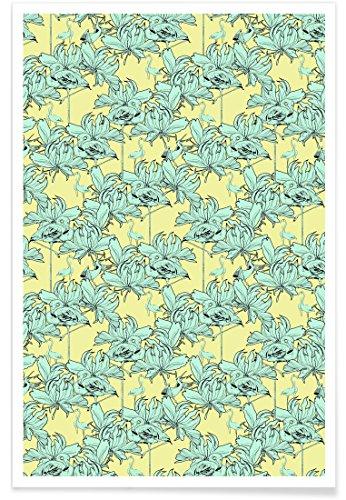 Juniqe® Affiche 20x30cm Flamants Roses Motifs - Design Ragno Modulo 2\
