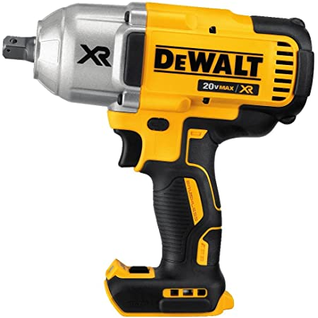 """DEWALT 20V MAX XR Brushless High Torque 1/2"""" Impact Wrench with Detent Anvil, Cordless, Tool Only (DCF899B)"""