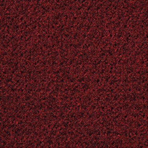 Kunstrasen Rasenteppich mit Noppen | Höhe ca. 7,5mm | 133, 200 und 400 cm Breite | rot | Meterware, verschiedene Größen | Größe: 3 x 2 m