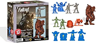 Toynk Fallout Nanoforce Series 1 Army Builder Figure Collection - Boxed Volume 3 | Vault Boy | Power Armor | Deathclaw | Special Edition Collectible Gaming Figures |