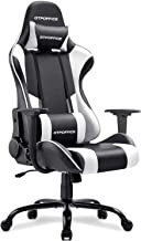 GTPOFFICE Gaming Chair Massage Office Computer Chair for Adult Reclining Adjustable Swivel Leather Computer Chair High Bac...