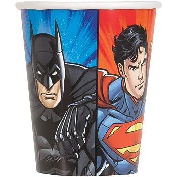 12ct Unique Party Favors 49984 16oz Justice League Plastic Cups
