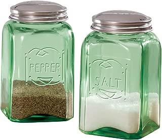 Best blue milk glass salt and pepper shakers Reviews