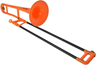 pInstruments Jiggs pBone-Plastic Trombone-Orange, (PBONE1OR)