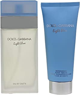 Dolce & Gabbana Light Blue for Women Eu De Toilette 100 ml + 100 ml Bc Travel Set