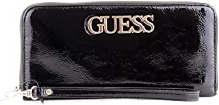Luxury Fashion | Guess Womens SWPT7301460BLACK Black Wallet | Fall Winter 19