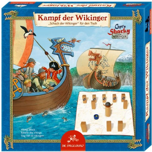 Spiegelburg 11034 Juego de MESA Kampf der Vikingos Capt'n Sharky