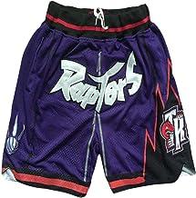 QIXUN Pantalones de Baloncesto Lakers 23# Pantalones Cortos Deportivos James Pantalones de Entrenamiento para Correr en Forma Holgada Pantalones de Secado r/ápido sobre la Rodilla Cinco