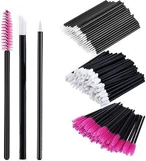 150 PCS Disposable Eyelash Mascara Brushes Lip Brushes Eyeliner Brushes Mascara Wands Applicator Makeup Brush Kits