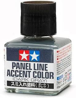Tamiya America, Inc Panel Line Accent Color Dark Gray, TAM87199