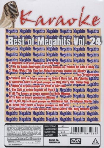 Karaoke DVD - Best of Megahits Vol. 24 [Edizione: Germania]