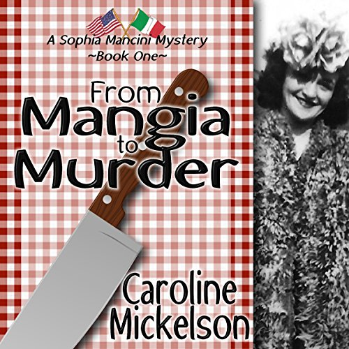 From Mangia to Murder: audiobook cover art