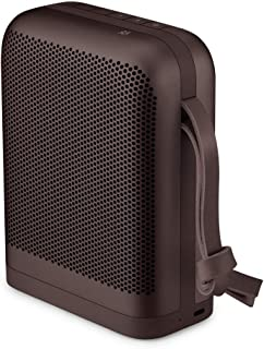 Bang & Olufsen Beoplay P6 Portable Bluetooth Speaker with Microphone, Chestnut - 1140052