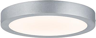 Paulmann 70655 WallCeiling Lunar Panneau LED, 300mm, 17W, 230V, Chrome mat, Alu