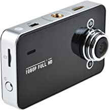 Portable 1080p Carcam Car DVR K6000 G-sensor Function Hold High-definition Camera High-definition Video 140 a + Grade High-resolution Ultra-wide-angle Lens--black