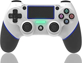 $42 » Wireless Bluetooth Game Controller, Joystick Compatible with ps4, Gamepad with Dual Vibration and 6-axis Gyroscope Functio...