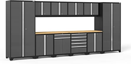NewAge Products Pro 3.0 Gray 12 Piece Set, Garage Cabinets, 52153