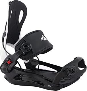 System MTN Men's 2020 Rear Entry Step in Style Snowboard Bindings