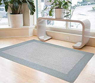 Kazage Dual Color Outdoor Rugs can add Style Statement to Any Home, Feel The Creativity of Two Tones Colors. (183X183 Round)