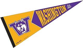 WinCraft Washington Huskies College Vault and Throwback Pennant