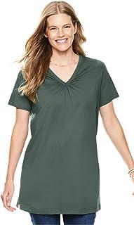 6c9ef346b5b Amazon.com: Woman Within - Tunics / Tops & Tees: Clothing, Shoes ...