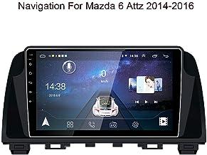 Android Car MP5 Player con Pantalla Táctil De 9 Pulgadas GPS Navegador para Mazda 6 Attz 2014-2016 Mirror Link Radio FM WiFi Bluetooth Multimedia Reproductor De Video Estéreo