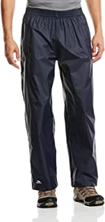 Trespass Unisex Qikpac Compact Pack Away Waterproof Trousers with 3 Pocket Openings