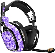 MightySkins Skin Compatible with Astro A40 Gaming Headset - Stained Glass   Protective, Durable, and Unique Vinyl Decal wrap Cover   Easy to Apply, Remove, and Change Styles   Made in The USA