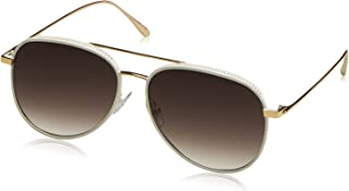 Jimmy Choo Women's Reto/S Js Sunglasses, White Gold, 57