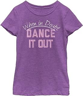 Fifth Sun Girls Little Girls Dance Inspired Graphic T-Shirt