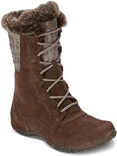 Women's Nuptse Purna II Boot - Carafe Brown & Taupe Grey - 6