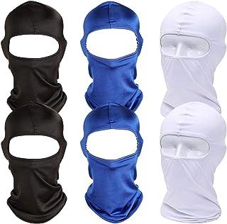 Sturmhaube   BESTZY 6 Stück Perfekt für den Winter als Skimaske, Skimaske Fahrrad Maske   Sturmmaske für Damen & Herren   auch Für das Fahrrad