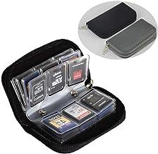FunYoung SD Karte Box Speicherkarten Schutzhülle Aufbewahrung Tasche Speicherkartenetui für unterwegs (2er Set)