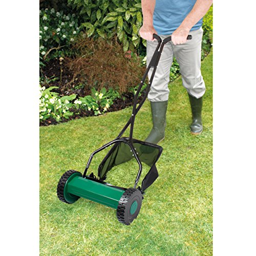 Coopers of Stortford Hand Push Manual Garden Lawn Mower