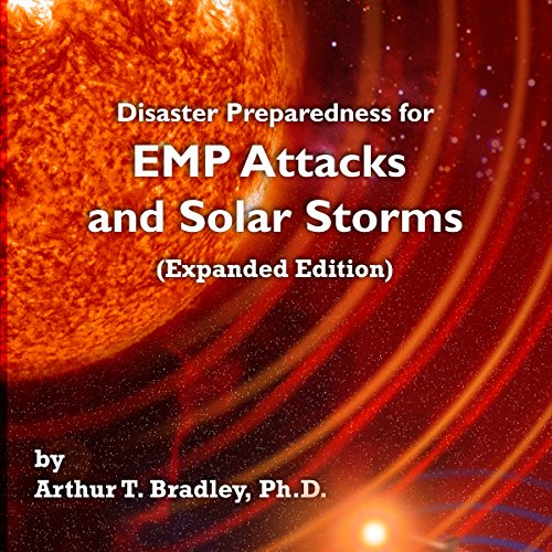Disaster Preparedness for EMP Attacks and Solar Storms audiobook cover art