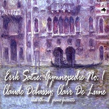 Erik Satie: Gymnopedie No. 1 Claude Debussy: Clair De Lune and Other Piano Favorites