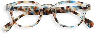 IZIPIZI #C Blue Tortoise Reading Glasses +2.5 Blue Tortoise
