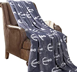 anchor throw blanket