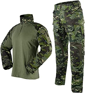 CFDGHIRY Military Clothing Sets Uniforms Camouflage T-Shirts and Army Pants Hunt Clothes
