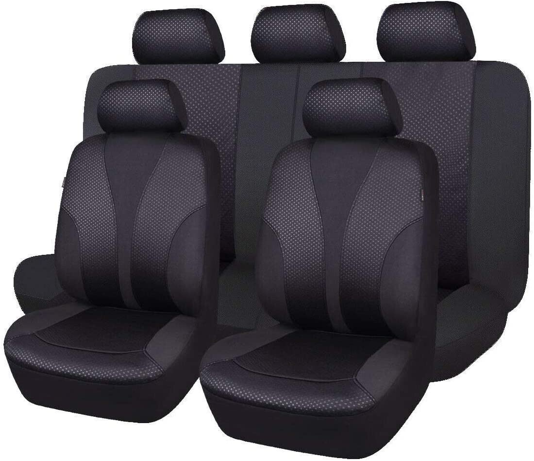 Flying Banner Car Seat Covers 9 PCS Seats and 55% OFF P Front Max 46% OFF Bench Rear