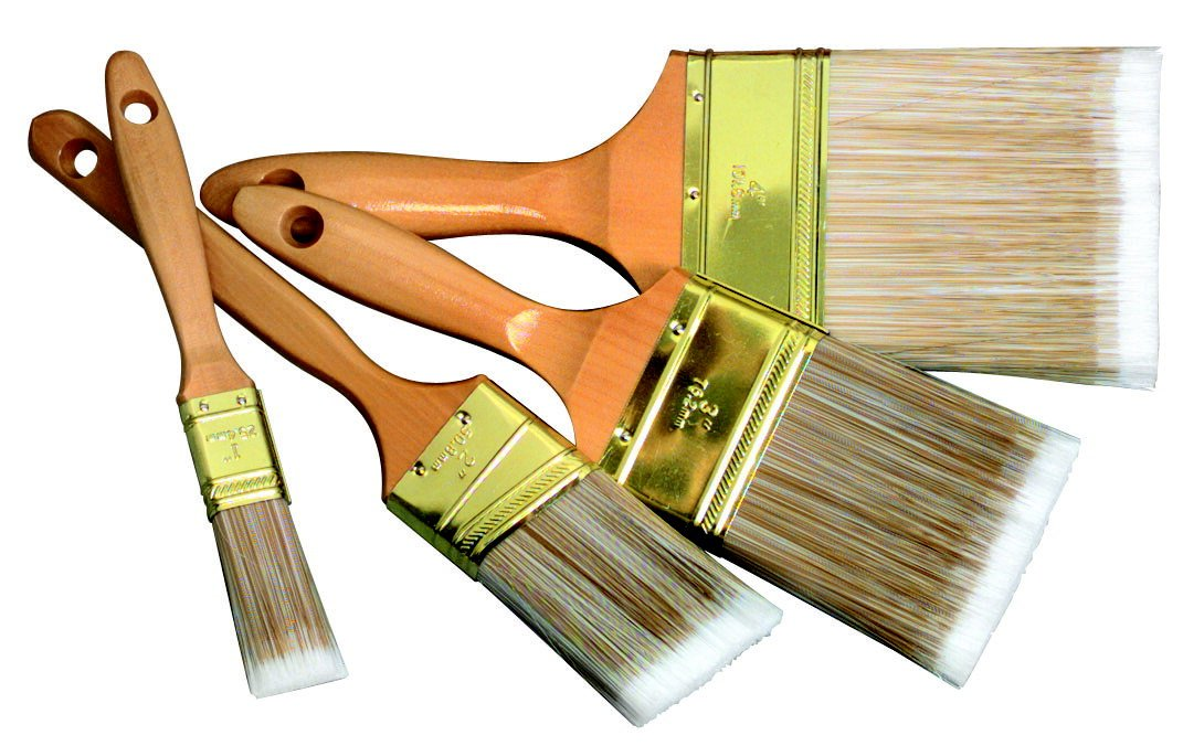 FM Brush Austin Mall - 404556 Nylon Fiber Lacquered Brus Handle Utility Wood Max 54% OFF