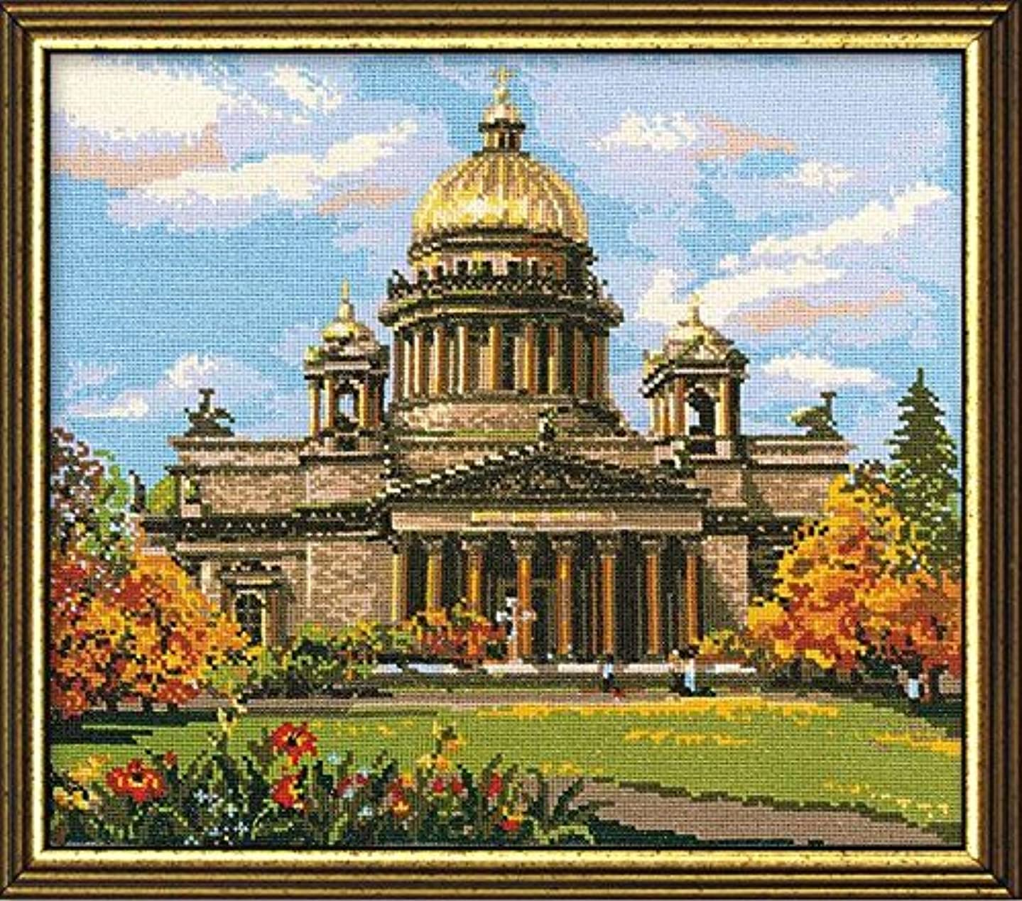 RIOLIS R923 Saint Isaac's Cathedral, St.Petersburg, Russia - Counted Cross Stitch Kit - 18