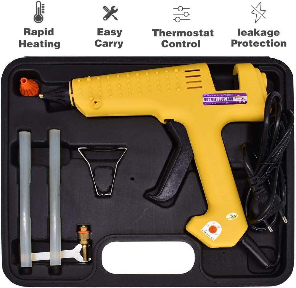 150 Watts Glue Gun Kit Spasm price Include 11mm No Sticks Copper Max 72% OFF 0.43