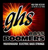 GHS Strings 5M-DYB 5-String Bass Boomers, Nickel-Plated Electric Bass Strings, Long Scale, Medium (.045-.130)