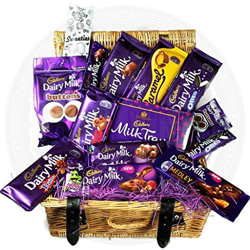Cadbury Medium Chocolate Hamper - By Moreton Gifts - Ideal Birthday, Father's Day, Thank You Gift, Best Teacher