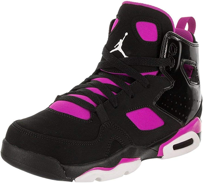 Nike Jordan FLTCLB '91 GP Boys Fashion-Turnschuhe 555332-028_12C - schwarz Weiß-Fuchsia Blast B0797DJM3N  Sonderpreis