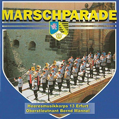 Heeresmusikkorps 13 & Oberstleutnant Bernd Männel