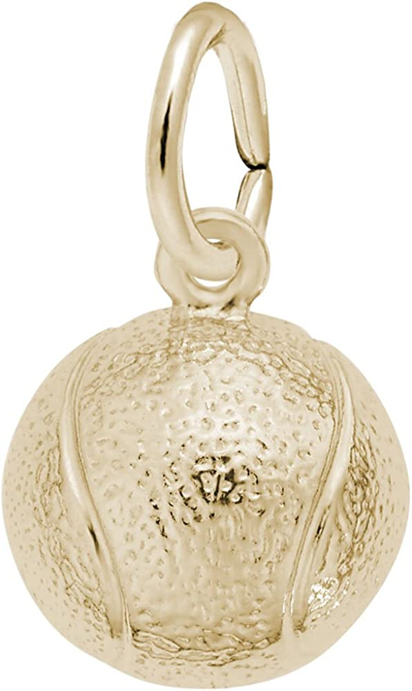 Tennis Ball Charm Charms for Bracelets and Necklaces
