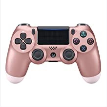 $26 » QDX Wireless Controller for Playstation 4 - Gamepad Joystick Rose Gold