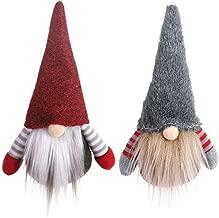 Brandless Santa Claus Statue Nordic Elf Plush Doll Christmas Ornament (No Leg)
